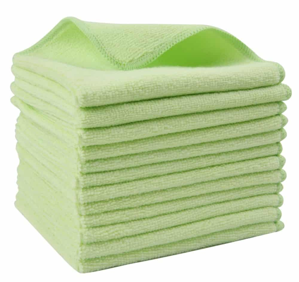 Dish Cloths Microfiber Cleaning Fabric